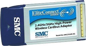 SMC EliteConnect 108Mbps, Cardbus (SMC2536W-AG)