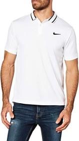 Nike Court Dri-FIT Shirt kurzarm weiß/schwarz (Herren) (BV1194-100)