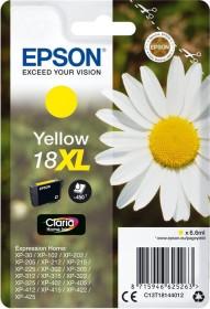 Epson Tinte 18 XL gelb hohe Kapazität (C13T18144010)