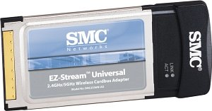 SMC EZ-Stream 2336W-AG, CardBus