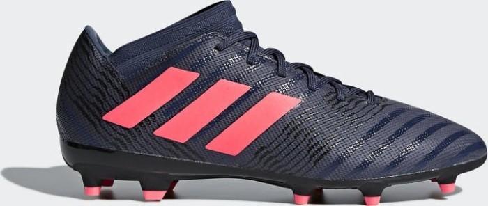 adidas Nemeziz 17.3 FG trace blue/red zest/core black (Damen) (DB2245)