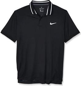 Nike Court Dri-FIT Shirt kurzarm schwarz/weiß (Herren) (BV1194-010)