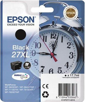 Epson 27 XL Tinte schwarz (C13T27114010)
