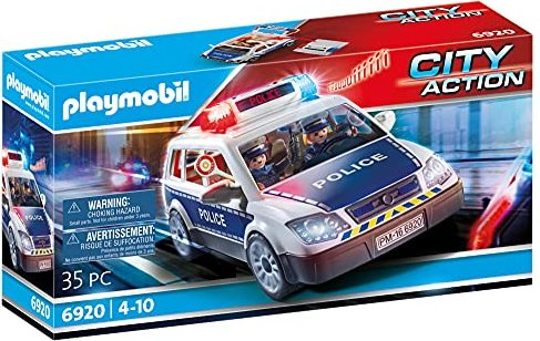 playmobil - City Action - Polizei-Einsatzwagen (6873) -- via Amazon Partnerprogramm