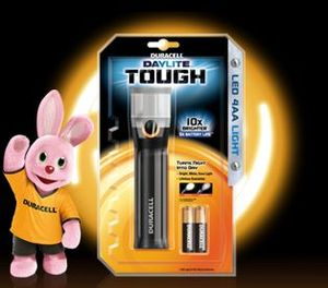 Duracell 4-AA Daylite Tough LED torch