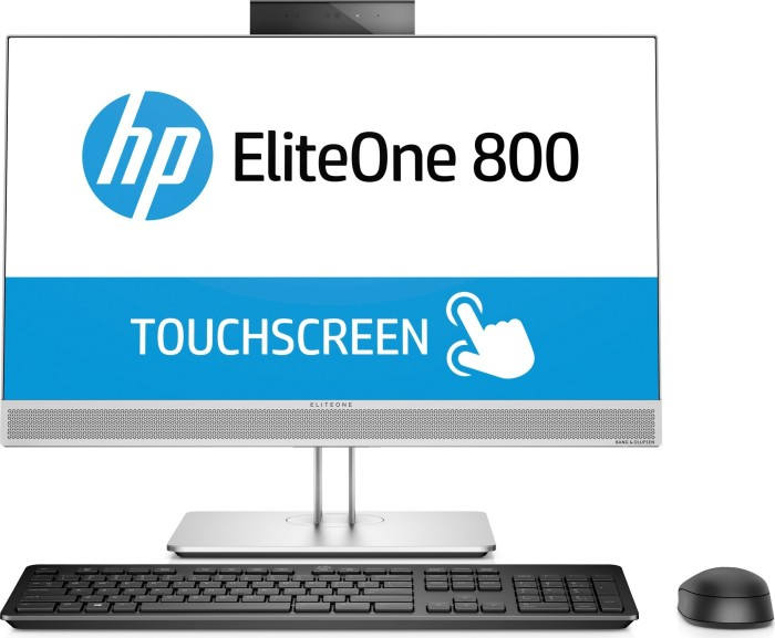 HP EliteOne 800 G4 All-in-One, Core i5-8500, 8GB RAM, 256GB SSD, multi touch (4FZ09AW#ABD)