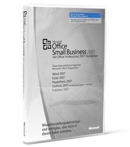 Microsoft: Office 2007 Small Business DSP/SB, MLK, 1er-Pack (deutsch) (PC) (9QA-00404) -- © DiTech