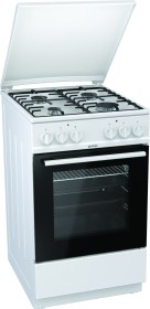 Gorenje K5151WH electric cooker with gas hob