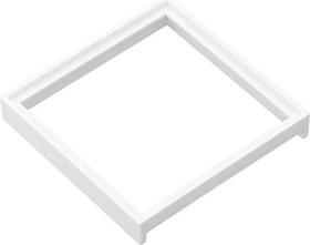 Gira Adapterrahmen mit quadratischem Ausschnitt 50x50mm, reinweiß glänzend (0282 03)