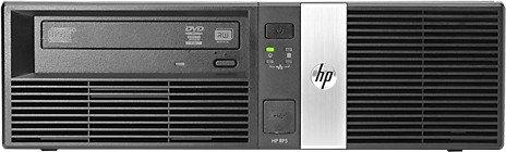 HP RP5 5810 POS-System, Core i7-4770S, 4GB RAM, 128GB SSD (J2V29EA#ABB)