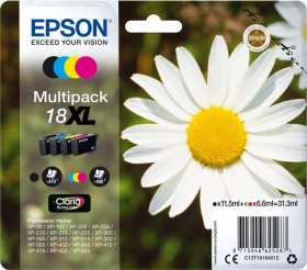 Epson ink 18XL high capacity multipack (C13T18164010)