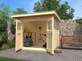 Weka 179 295x300cm shed natural (179.3030.40001)