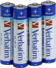 Verbatim Alkaline Micro AAA, 4-pack (49920)