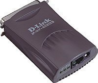D-Link DP-101P+ print server -- © D-Link Corporation
