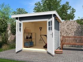 Weka 179 295x300cm shed grey (179.3030.45001)