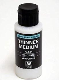 Vallejo Model Color Thinner Medium, 60ml (73.524)