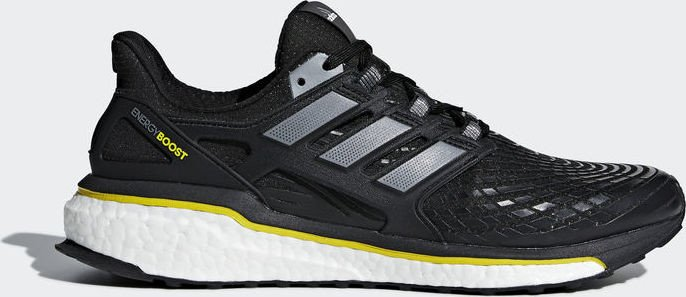 adidas Energy Boost core black/night metallic/vivid yellow (Herren) (CQ1762)