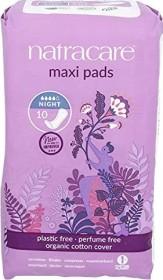 natracare Night Time sanitary pads, 10 pieces
