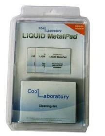 Coollaboratory liquid MetalPad, 3x CPU + cleaning set