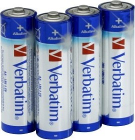 Verbatim Alkaline Mignon AA, 4er-Pack (49921)