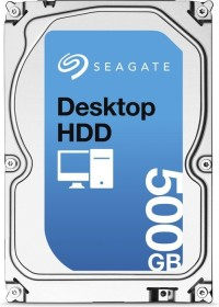 Seagate Desktop HDD 500GB, SATA 6Gb/s (ST500DM002)