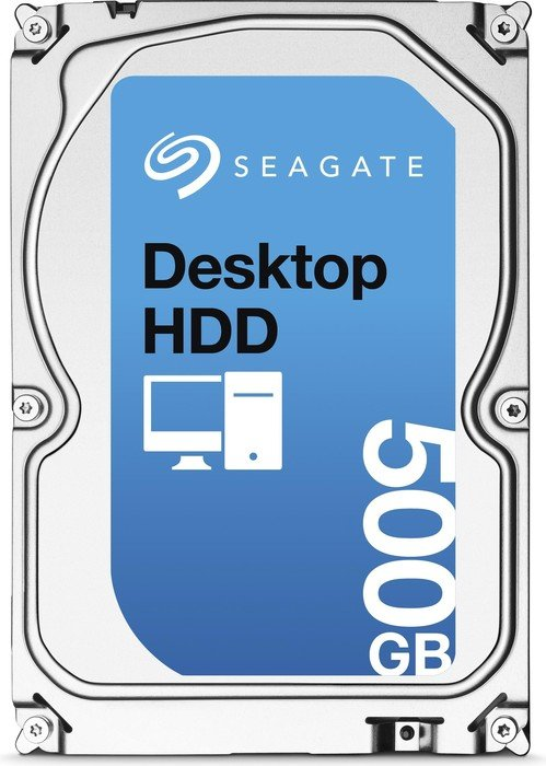 Seagate Desktop HDD 500GB, SATA 6Gb/s (ST500DM002)