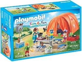 playmobil Family Fun - Familien-Camping (70089)