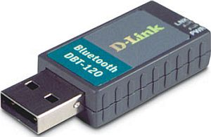D-Link DBT-120 Personal Air Bluetooth adapter USB
