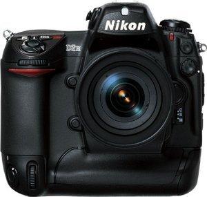 Nikon D2H schwarz Gehäuse (VBA103EA)