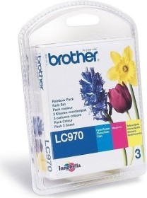 Brother Tinte LC970 Rainbow Pack (LC970RBWBPDR)