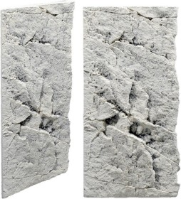 Back to Nature Slimline Rückwand 50C White Limestone, 20x45cm (03000091)