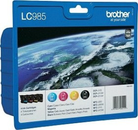 Brother Tinte LC985 Value Pack (LC985VALBP)