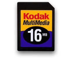 Kodak MultiMedia Card (MMC)  16MB (1468396)