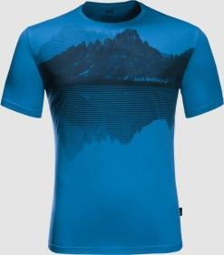 Jack Wolfskin Peak Graphic Shirt kurzarm brilliant blue (Herren) (1807181-1152)