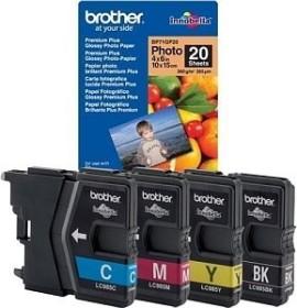Brother Tinte LC985 Value Pack 20 Blatt (LC985VB1PDR)