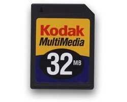 Kodak MultiMedia Card (MMC) 32MB (8024648)
