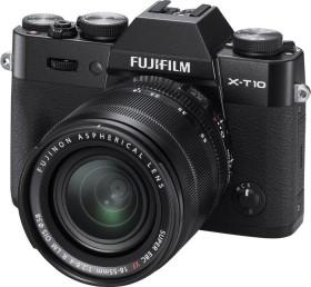 Fujifilm X-T10 schwarz mit Objektiv XF 18-55mm 2.8-4.0 R LM OIS
