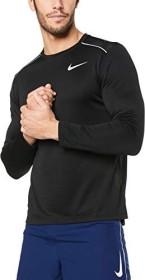 Nike Dri-FIT Miler Shirt langarm schwarz (Herren) (AJ7568-010)