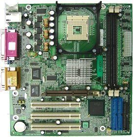 EPoX EP-4GEMI, i845GE (PC-2700 DDR) -- © EPoX Computer