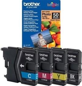 Brother Tinte LC985 Value Pack 50 Blatt (LC985VB50PDR)