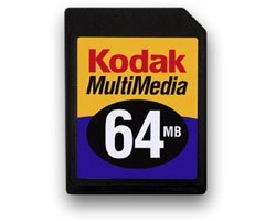 Kodak MultiMedia Card (MMC) 64MB (8535692)
