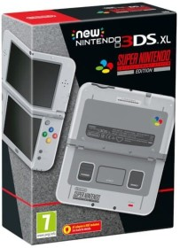 Nintendo New 3DS XL SNES Edition grau