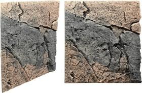 Back to Nature Slimline Rückwand 60A Basalt-Gneiss, 50x55cm (03000092)