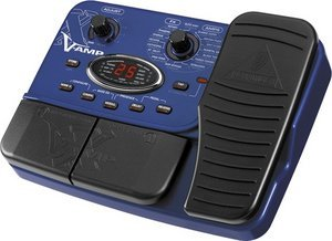 Behringer X V-AMP multi effects pedal -- © Copyright 200x, Behringer International GmbH