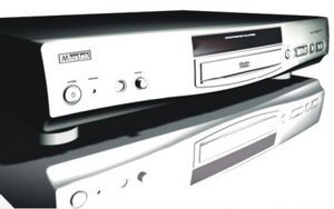 Mustek DVD-V562 silver