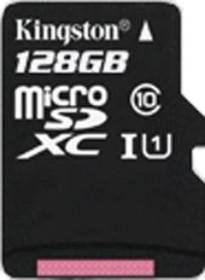 Kingston microSDXC 128GB, UHS-I, Class 10 (SDCX10/128GBSP)
