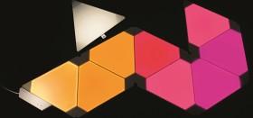 nanoleaf Aurora Smart Lighting LED Panel Starterkit 9x 2W (NL22-0002TW-9PK)