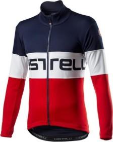 Castelli Prologo Fahrradjacke savile blue/white/red (Herren) (4520504-414)