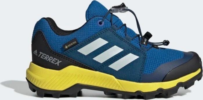 heißer verkauf adidas Terrex GTX blue beautygrey oneshock yellow (Junior) (BC0599) ab ? 54,05  zu verkaufen