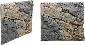Back to Nature Slimline Rückwand 50B Basalt-Gneiss, 50x45cm (03000096)